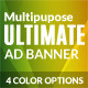 Multipurpose Ultimate Web Ad Banners - GraphicRiver Item for Sale
