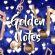 Golden Notes Visual Loops - VideoHive Item for Sale