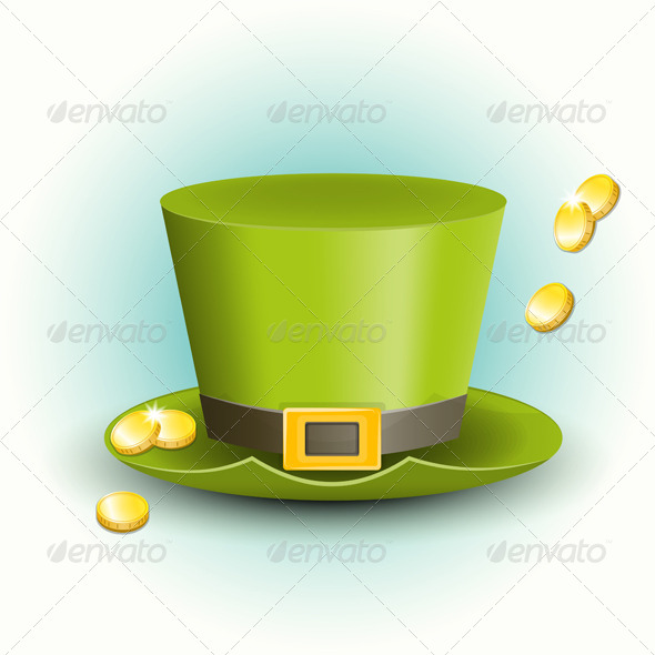 St Patricks Day Hat - Seasons/Holidays Conceptual