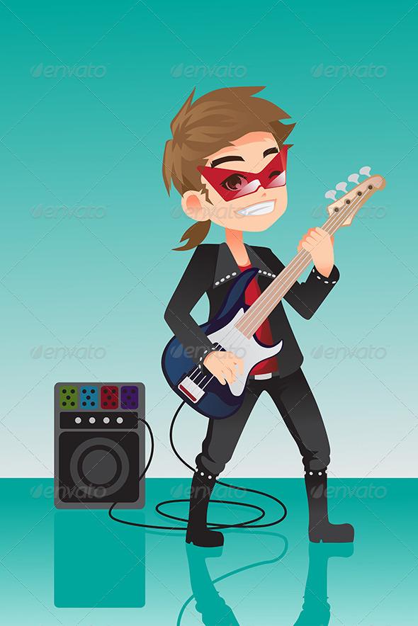 Kid Rocker - People Characters