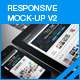 myResponsive screen mock-up V2 - GraphicRiver Item for Sale