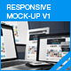 myResponsive Screen Mock-up - GraphicRiver Item for Sale