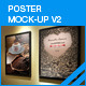 Poster Mock-Up V2 - GraphicRiver Item for Sale