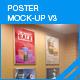 Poster Mock-Up v3 - GraphicRiver Item for Sale