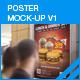 Poster Mock-Ups v1 - GraphicRiver Item for Sale