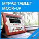 MyPAD Tablet Screen Mock-up - GraphicRiver Item for Sale