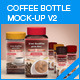 Coffee Power Bottle Mock-up V2 - GraphicRiver Item for Sale