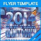 2014 New Year Countdown Party Flyer - GraphicRiver Item for Sale