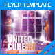 United Cube Party Night Flyer - GraphicRiver Item for Sale