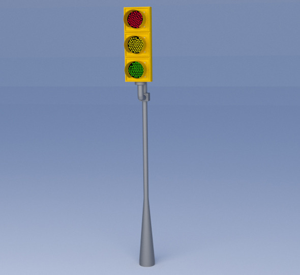 Traffic Light - 3DOcean Item for Sale
