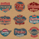 Premium Vintage Retro Label Badges - GraphicRiver Item for Sale