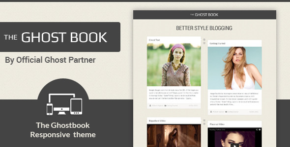 Ghost Book – Responsive Ghost Theme