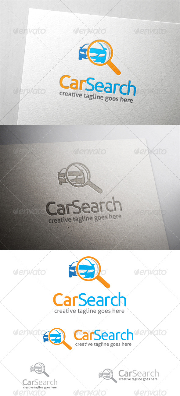 Car Search Logo - Objects Logo Templates