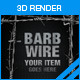Barb Wire - GraphicRiver Item for Sale