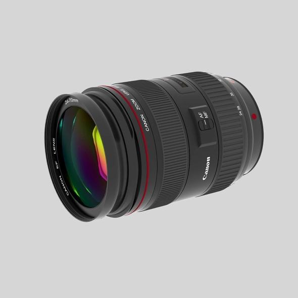Canon EF 24 70 f/2.8 L USM - 3DOcean Item for Sale