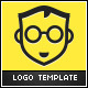 Nerd Logo - GraphicRiver Item for Sale