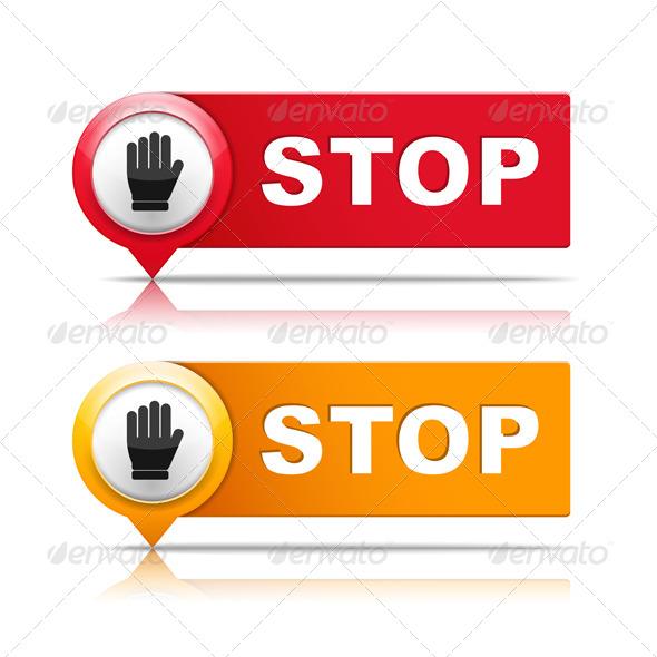 Stop - Miscellaneous Vectors