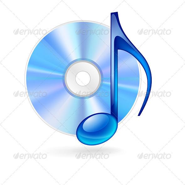 Music Icon. - Media Technology