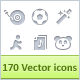 Minicons Pack 2 (170 vector icons + PSD/CSH) - GraphicRiver Item for Sale