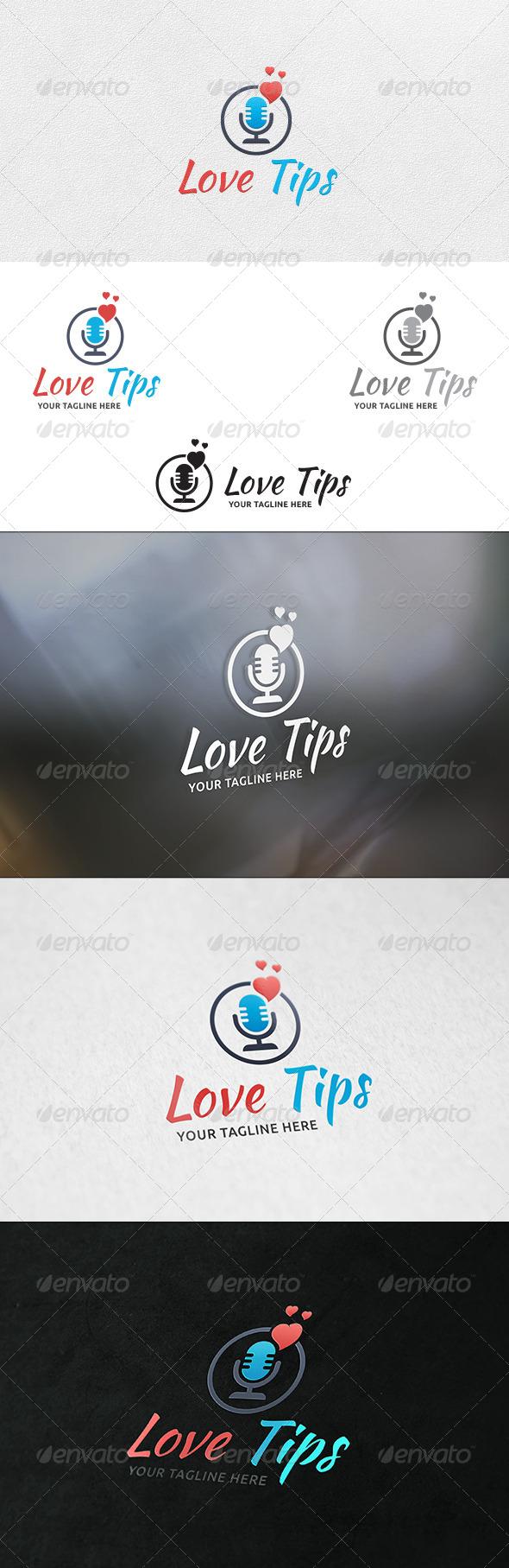Love Talk - Logo Template - Objects Logo Templates
