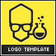 Genius - Lab Geek Logo Template - GraphicRiver Item for Sale