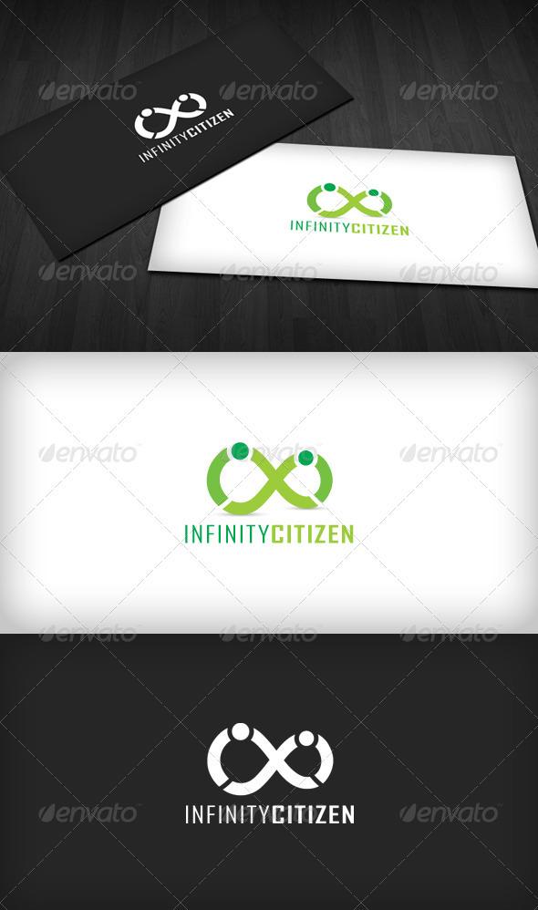 Infinity Citizens Logo - Symbols Logo Templates
