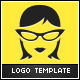 Geek Girl Logo - GraphicRiver Item for Sale