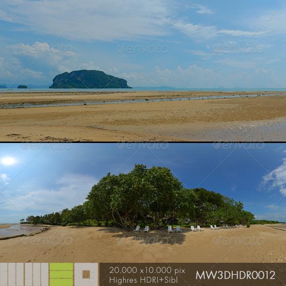 MW3DHDR0012 Ko Yao Island Beach Thailand - 3DOcean Item for Sale