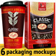 6 Coffee Packaging Mockups - GraphicRiver Item for Sale
