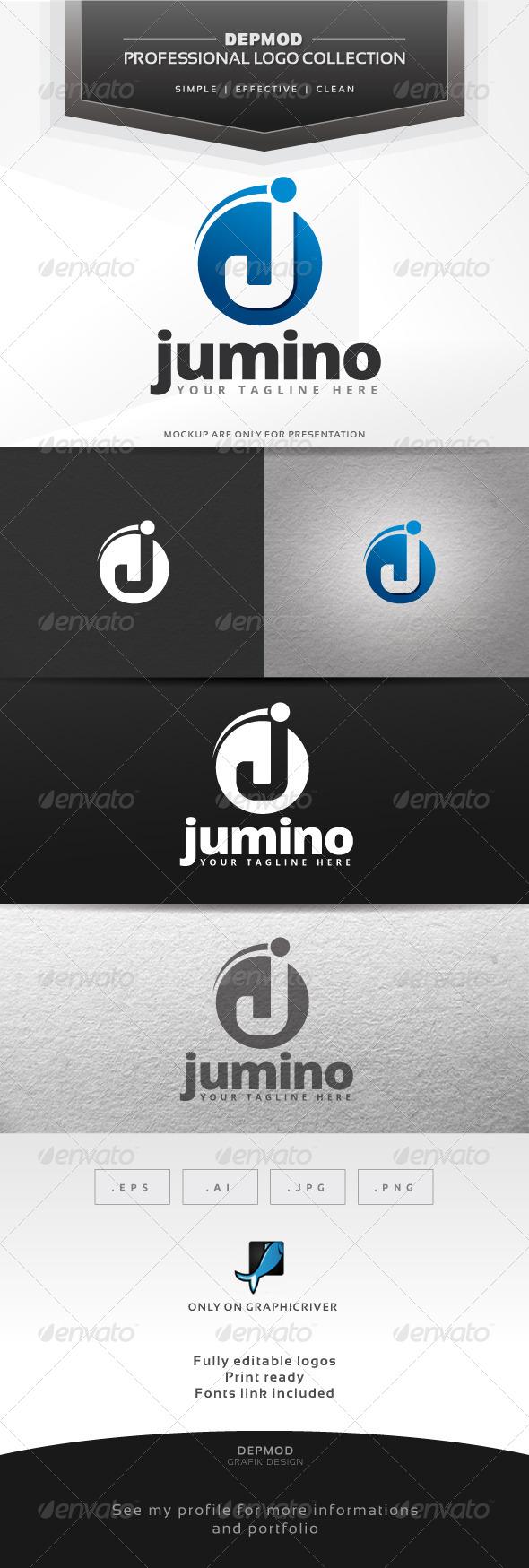 Jumino Logo - Letters Logo Templates