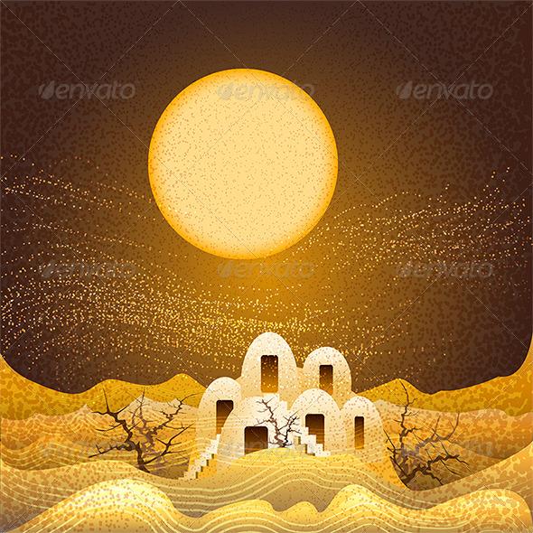 Sandstorm - Landscapes Nature