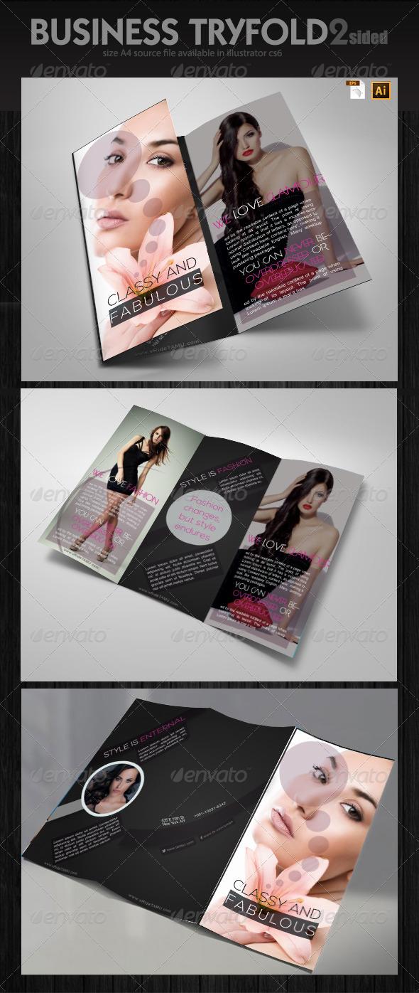 Fashion Industry Brochure Design  - Informational Brochures