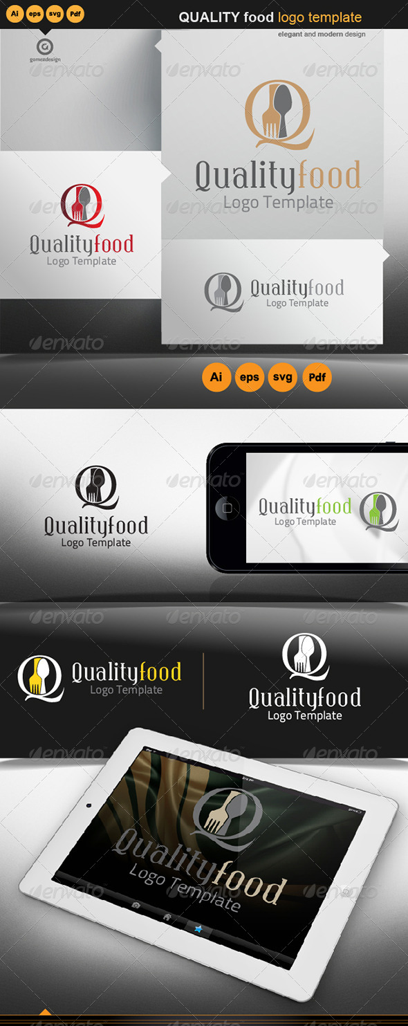Quality Food - Logo Templates