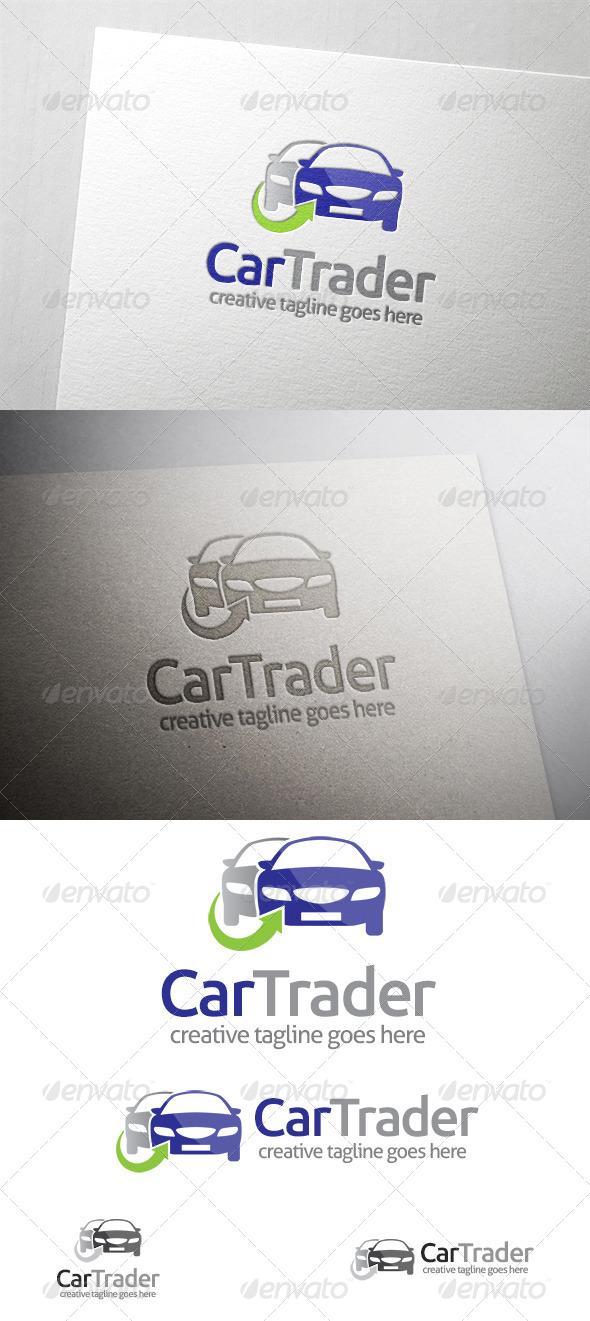 Car Trader Logo - Objects Logo Templates