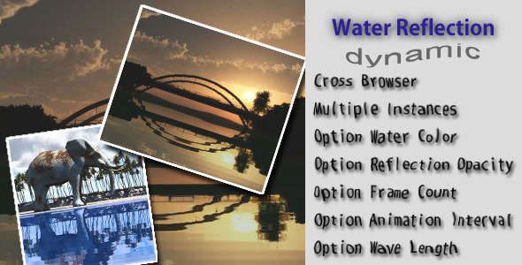 Water Reflection - CodeCanyon Item for Sale