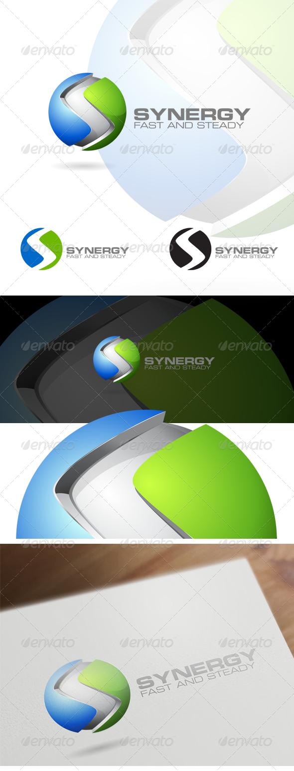 3D S Letter - Corporate Logo Design - Letters Logo Templates