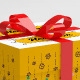 Realistic Gift Box Mockup - GraphicRiver Item for Sale