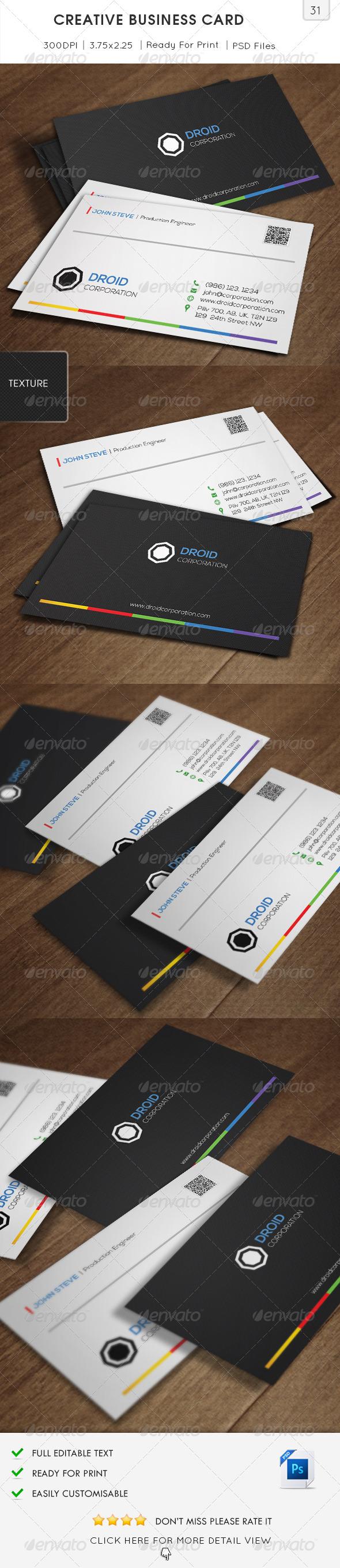 Creative Business Card v31 - Creative Business Cards