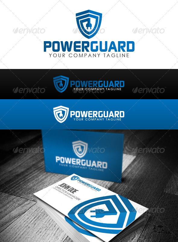 Power Guard Logo - Crests Logo Templates
