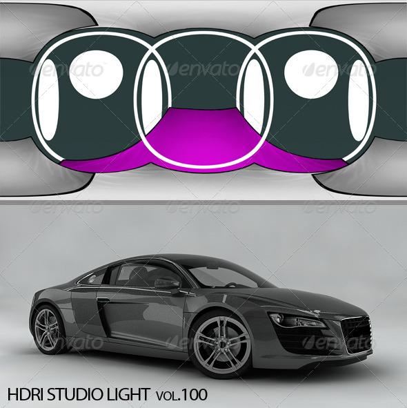 HDRI_Light_100 - 3DOcean Item for Sale