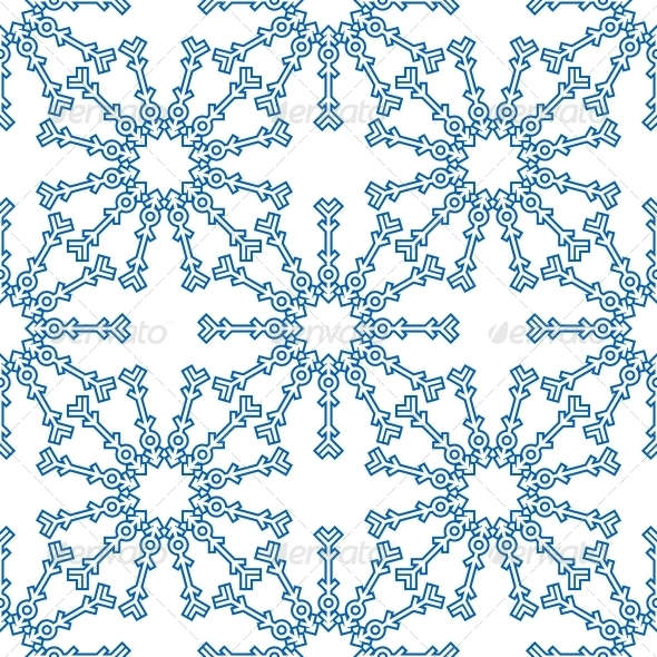 Snowflakes Seamless Pattern for Winter Design - Seasons Nature