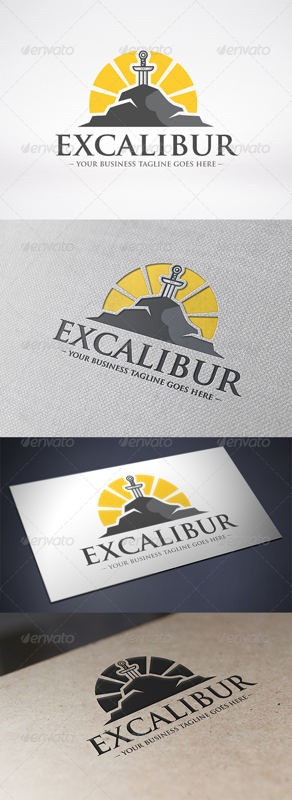 Excalibur Logo Template - Objects Logo Templates