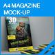 Magazine Mock-up - GraphicRiver Item for Sale