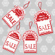 Four Christmas Sale Tags - GraphicRiver Item for Sale