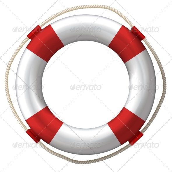 Lifebelt Lifebuoy - Health/Medicine Conceptual