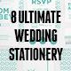 Ultimate 8 Wedding Stationery Sets Vol.1 - GraphicRiver Item for Sale
