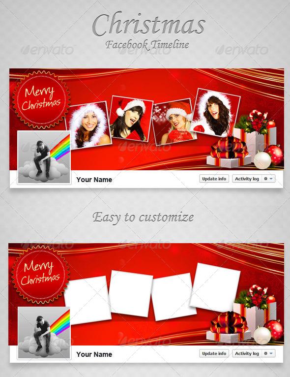 Christmas FB Timeline V10  - Facebook Timeline Covers Social Media