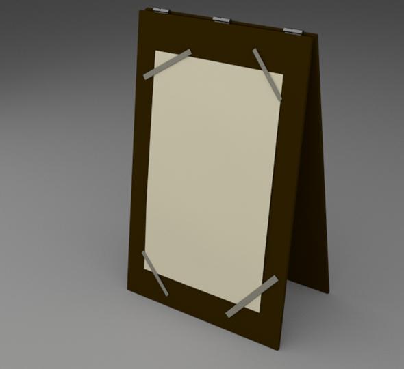 Menu Board - 3DOcean Item for Sale