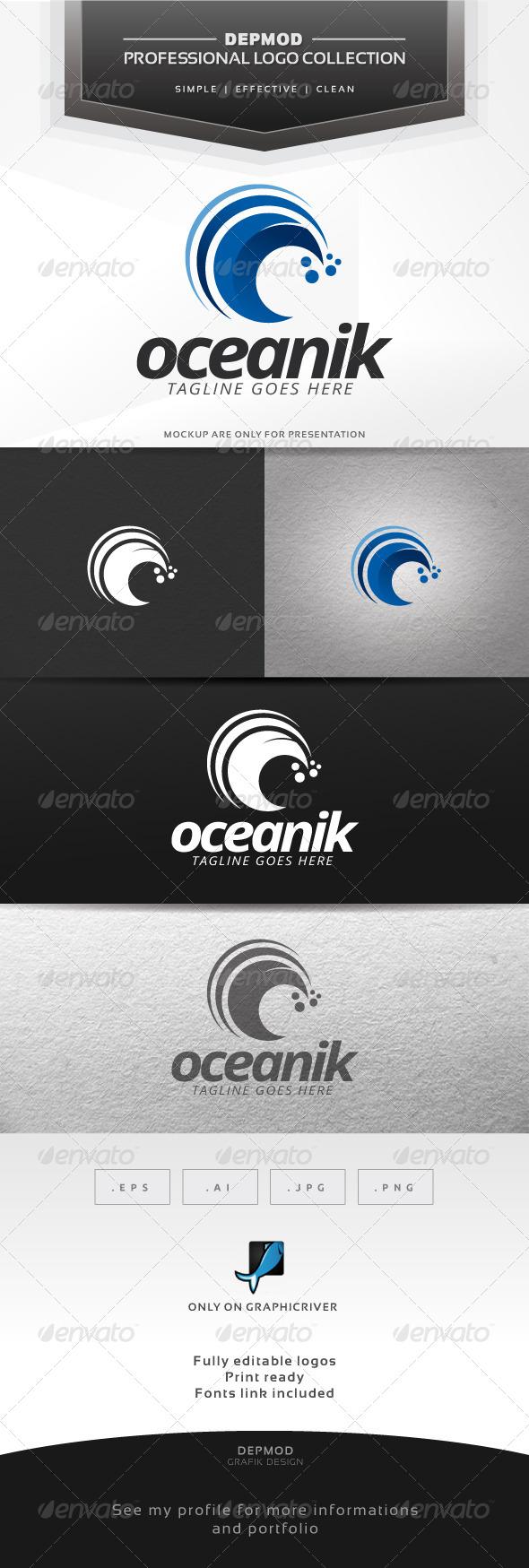 Oceanik Logo - Nature Logo Templates