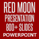 Red Moon Presentation - Powerpoint Solution - GraphicRiver Item for Sale
